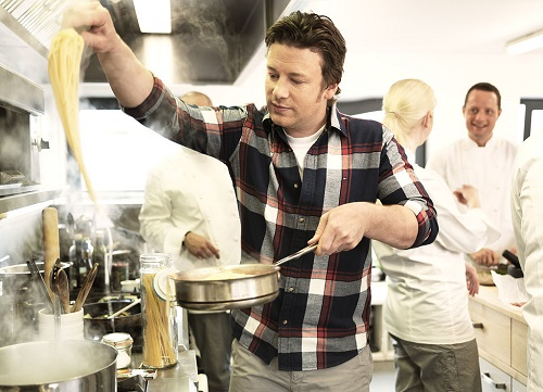 Jamie Oliver in cooking events